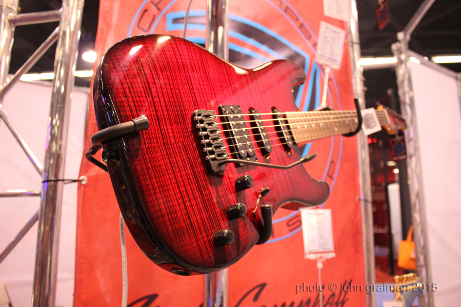 NAMM 2015 Rockbox Guitar