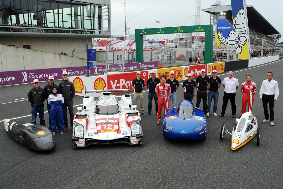 The Most Efficient Shell Eco Marathon Cars Compete At Le