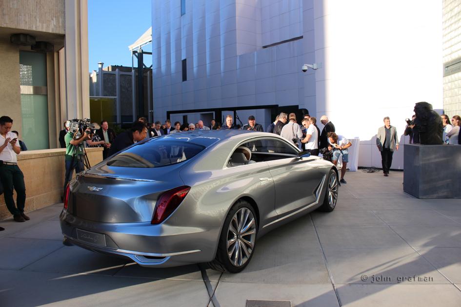 Hyundai Vision G at LACMA