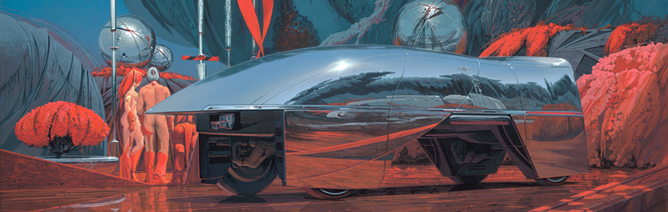 Syd Mead cover