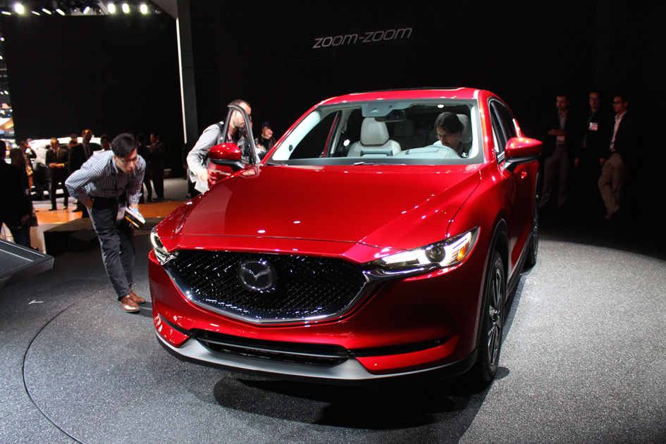 Our New Body Color, Soul Red Crystal, Combines Vivid Highlights And  Crystalline Depths And Further Accentuates The Design Of The New CX 5.