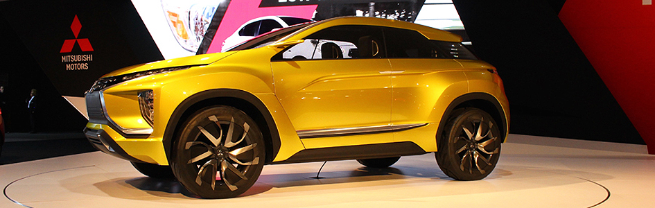 Mitsubishi Motors Hints To The Future With EX Concept At LAAS