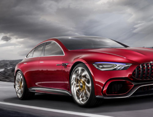 Mercedes-AMG GT Concept – Driving Performance of the Future
