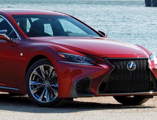 Lexus Reimagines it's Flagship Sedan
