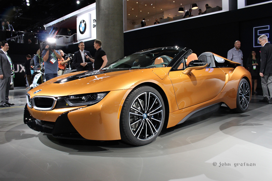 2019 Bmw I8 Roadster And Bmw I8 Coupe Rock La Autodesigno