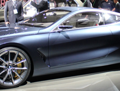 BMW Concept 8 Series Strikes Again