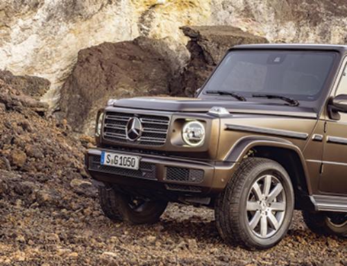 New Mercedes-Benz G-Class
