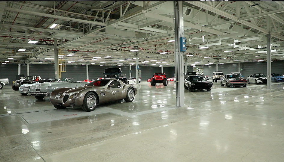 New Home of FCA US Car Collection in Michigan - AutoDesignO