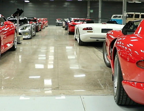 New Home of FCA US Car Collection in Michigan