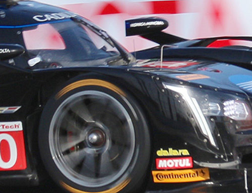 IMSA Cadillac, Long, Dark, Shiny 'N Black
