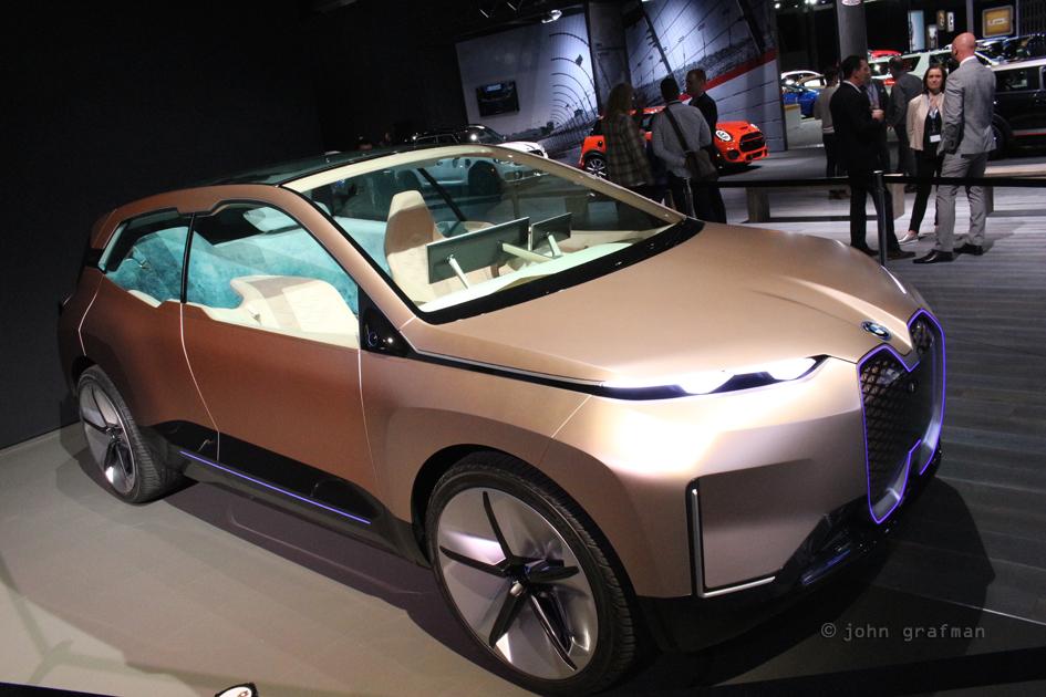 LA Auto Show BMW Vision iNEXT