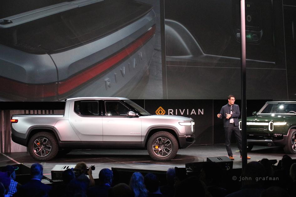 Rivian RJ Scaringe LA Auto Show 2018