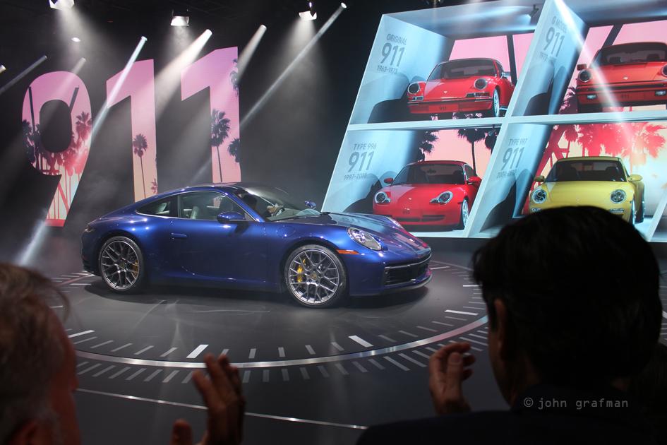 LA Auto Show, Porsche 911