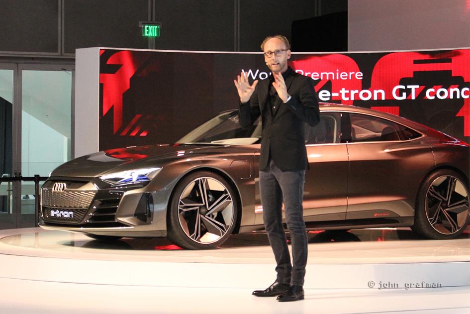 LA Auto Show Audi e-tron sportback