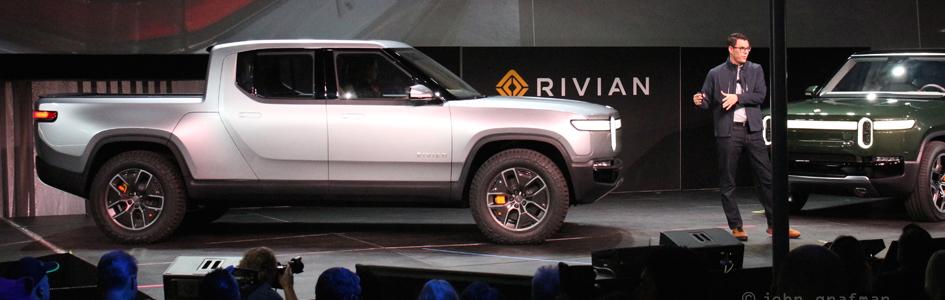 Rivian LA Auto Show 2018