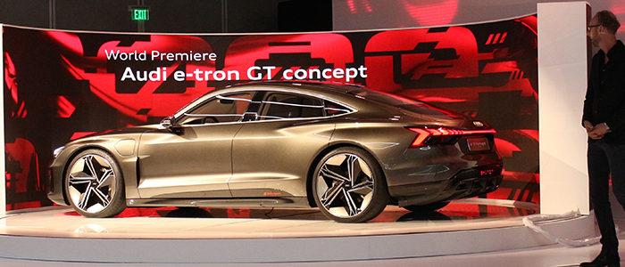 LA Auto Show 2018 Audi e-tron GT
