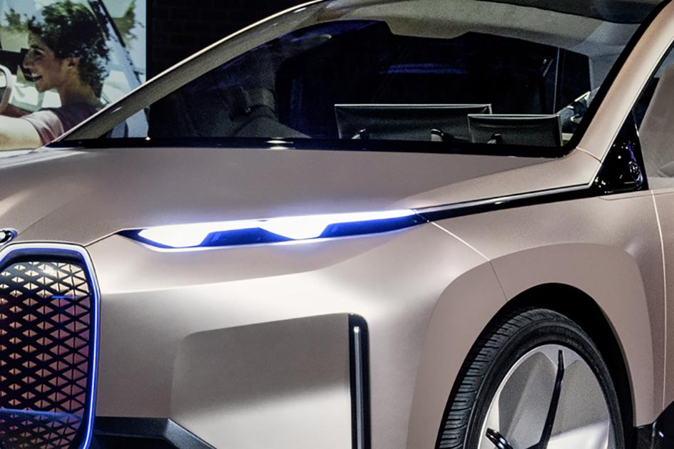 LA Auto Show, BMW Vision iNext
