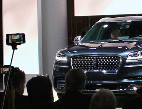 Kemal Curić on the New Lincoln Aviator at the LAAS