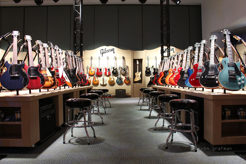 NAMM Gibson Custom Shop