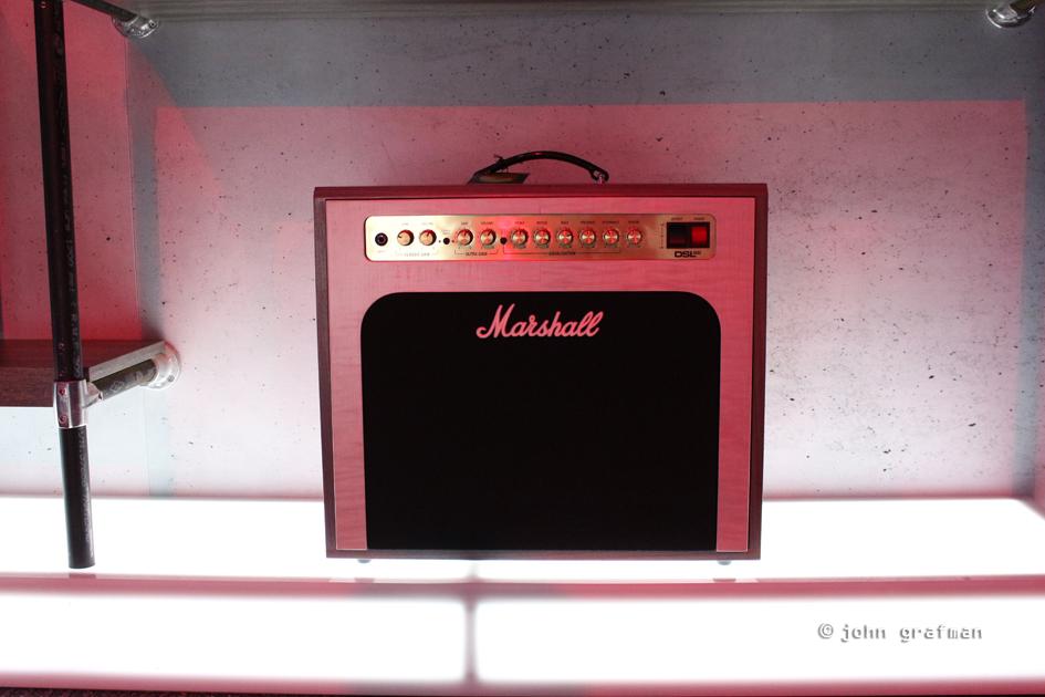 NAMM Marshal Amps