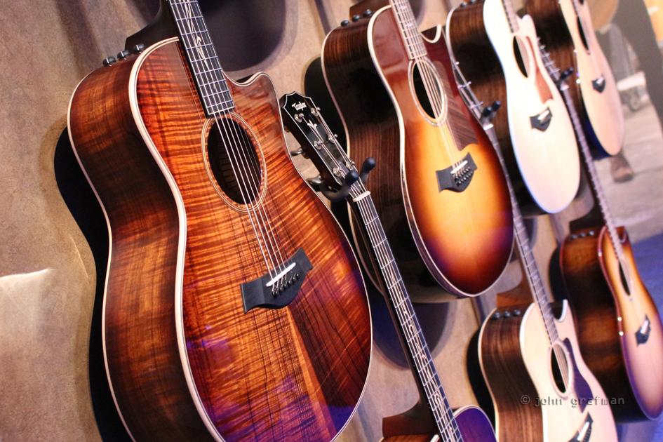 NAMM Taylor Guitars