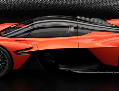 Aston Martin Valkyrie Supercar is Shaping Up