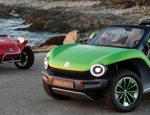 VW ID. Buggy Getting Traction at Pebble Beach
