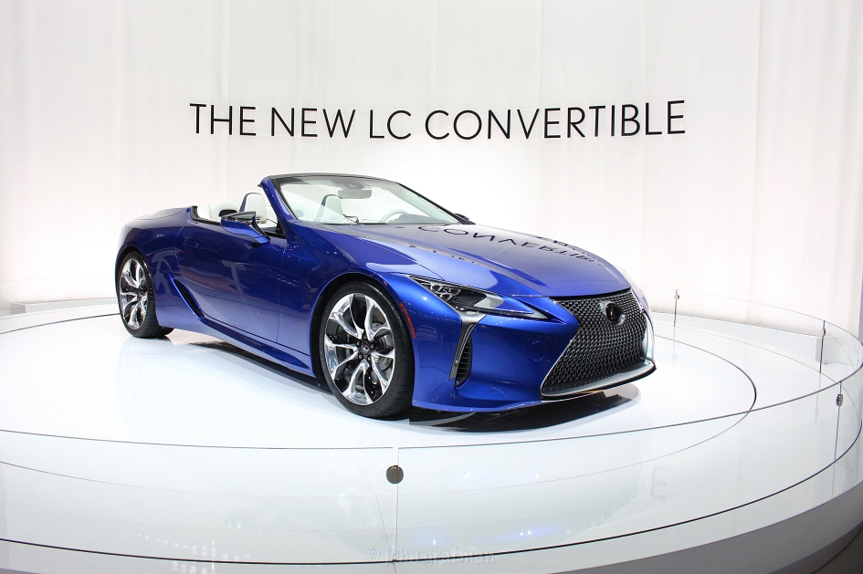 Los Angeles Auto Show 2019 Lexus