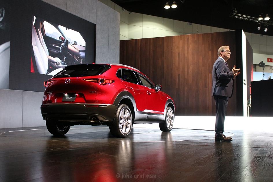 Los Angeles Auto Show 2019 Mazda
