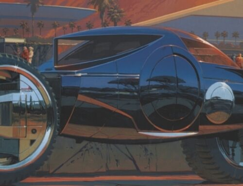 Syd Mead Stikes Again, Gone But Not Forgotten