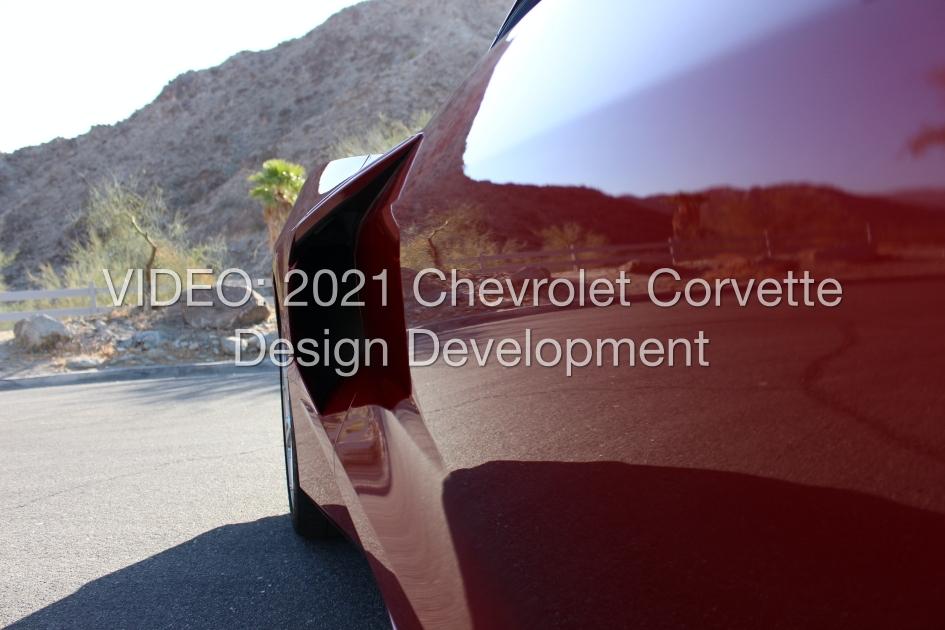 2021 Chevrolet Corvette design video